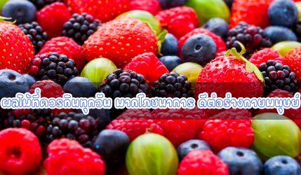 ผลไม้ที่ควรกินทุกวัน มากโภชนาการ ดีต่อร่างกายมนุษย์