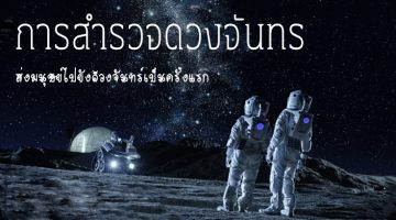 การสำรวจดวงจันทร์ ส่งมนุษย์ไปยังดวงจันทร์เป็นครั้งแรก